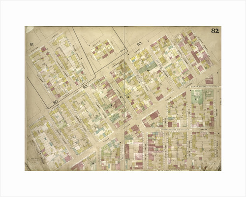 Map bounded by Lorimer St., Skillman Ave., Conselyea St., North 2nd St., Loriner St., Stagg St., Schols St., Ten Eyck St., Mauger St., Grand St., Powers St; Including Ainslie St., Devoe St., New York by Anonymous
