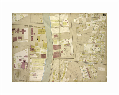 Map bounded by Orient Ave., Olive St., Maspeth Ave., Newtown Creek, Haussman St., Webster St., Jockson St., Wright St., Broom St; Including Van Pelt St., Newton St., Skillman Ave., Kingsland Ave., New York by Anonymous