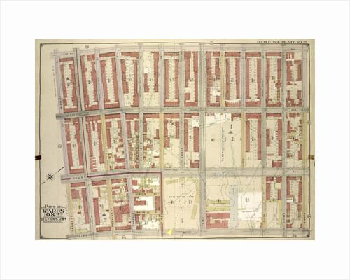 Map bounded by 6th Ave., 8th Ave; Including3rd Ave., Sackett St., Berkeley PL., New York by Anonymous