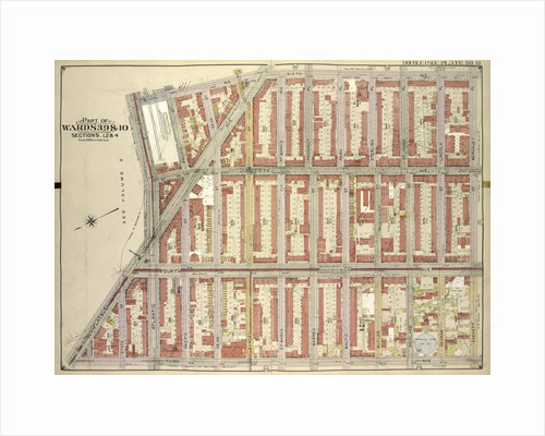 Map bounded by 6th Ave., Berkeley PL., Sackett St; Including3rd Ave., Flatbush Ave, Atlantic Ave., New York by Anonymous