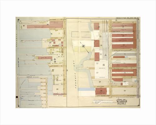 Map bounded by 52nd St., 44th St., 2nd Ave., 1st Ave., 45th St., 46th St., 47th St., 48th St., 49th St., 50th St; Including51st St., 53rd St., 54th St., 55th St., 56th St., New York by Anonymous