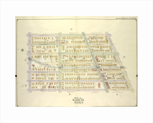 Map bounded by E. 19th St., Dorchster Road; Including Argyle Road E. 13th St., Albemarle Road Avenue A., New York by Anonymous