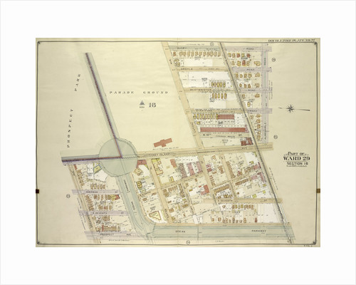 Map bounded by Rugby Road E. 14th St., Albemarle Road Avenue A, Church Ave., Church Lane, Ocean Parkway; Including Prospect Ave., Greenwood Ave., Parkside Ave., Cone., New York by Anonymous