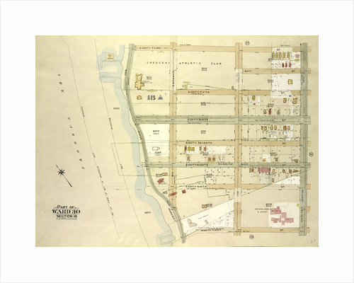 Map bounded by 83rd St., Ridge Blvd., 91st St., Bay Ridge Parkway, New York by Anonymous