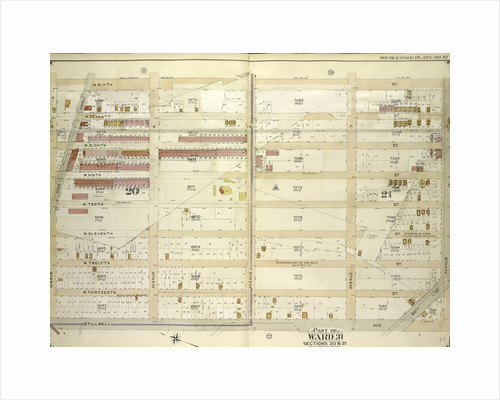 Map bounded by W. 6th St., Avenue U, 86th St; Including Stillwell Ave., Avenue Q., New York by Anonymous
