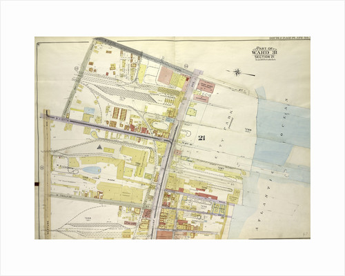 Map bounded by E. 5th St., Atlantic Ocean, Stillwell Ave; Including Neptune Ave., W. 8th St., Sheephead Road, New York by Anonymous