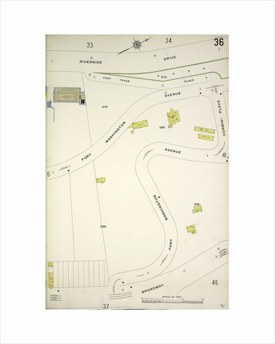 Map bounded by Riverside Drive, Broadway, New York by Anonymous