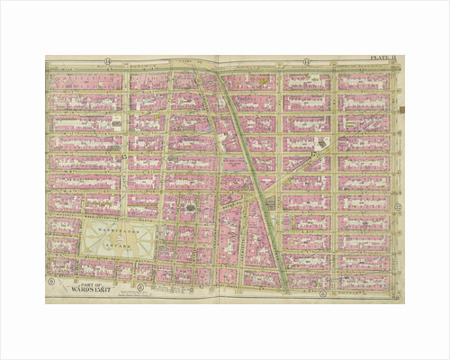 Map bounded by E. 14th St., 1st Ave., W. 3rd St., 6th Ave., New York by Anonymous