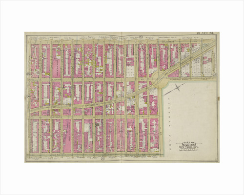 Map bounded by 9th Ave., W. 59th St., 6th Ave., W. 47th St., New York by Anonymous