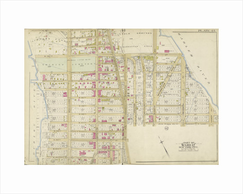 Map bounded by W. 158thSt., Harlem River, W. 143rd St., Hudson River, New York by Anonymous