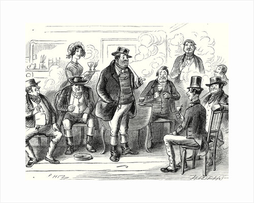 Pickwick Papers 'Sam Having Been Formally Introduced As the Offspring of Mr. Weller of the Belle Savage Was Treated with Marked Distinction' by Anonymous