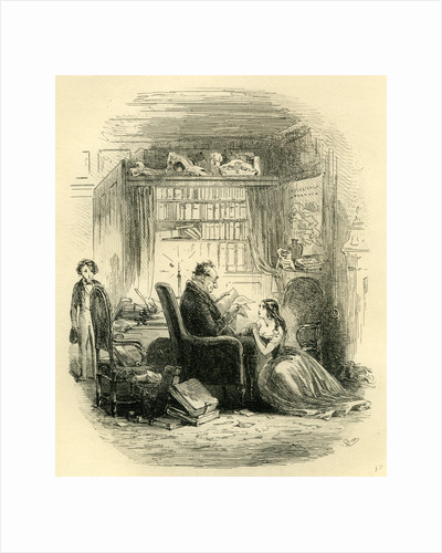 David Copperfield 'I Return to the Doctor's after the Party' by Anonymous