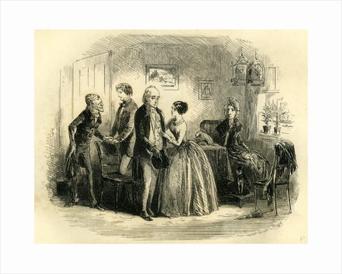 David Copperfield 'Mr. Wickfield and His Partner Wait Upon My Aunt' by Anonymous