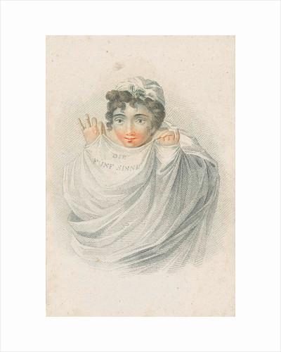 Female figure in drapery, Ludwig Gottlieb Portman by Schiavonetti