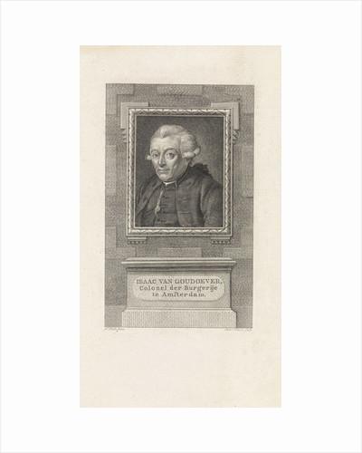 Portrait of Isaac van Goudoever by Jan Ekels II