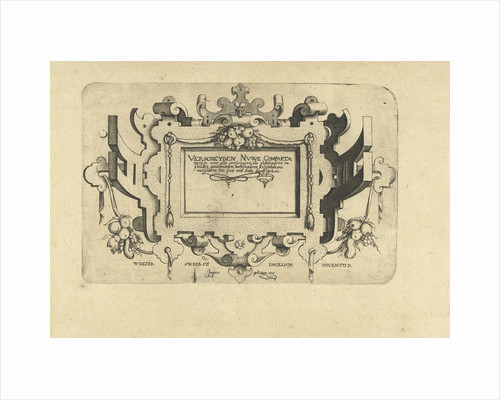 Title Sheet with fruit bunches by Wolter Sweersz Drollich