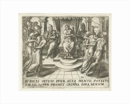 Daniel condemns the elders by Abraham de Bruyn