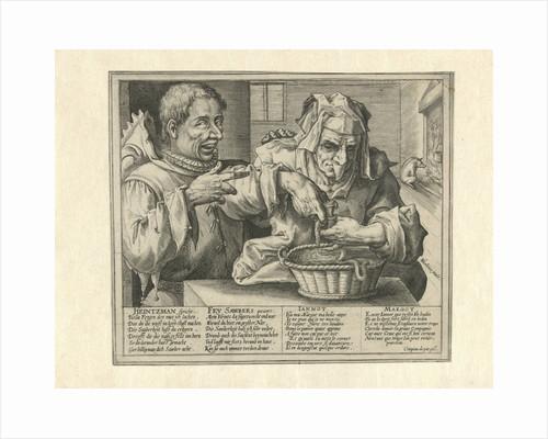 Satire on hygiene by Crispijn van de Passe I