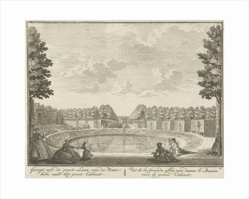 Basin in the garden of House ter Meer in Maarssen by Hendrik de Leth