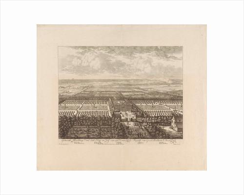 Bird's-eye-view of Soestdijk Palace, The Netherlands, Bastiaen Stopendael by Staten van Holland en West-Friesland