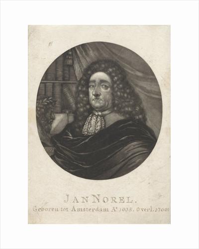 Portrait of the poet Jan Norel by Pieter Schenk I