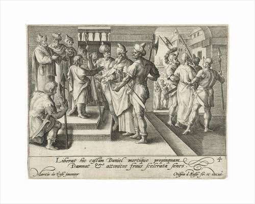 Daniel condemns the elders by Crispijn van de Passe I