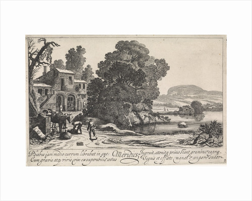 Italianate landscape: afternoon by Jan van de Velde II