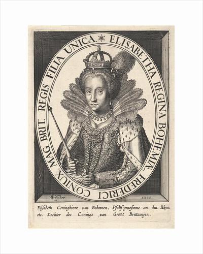 Portrait of Elizabeth I Tudor by Claes Jansz. Visscher II