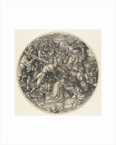Carrying of the Cross by Jacob Cornelisz van Oostsanen