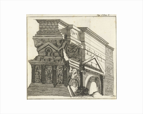 Triumphal Arch in Orange by Hendrick and Dirk Boom