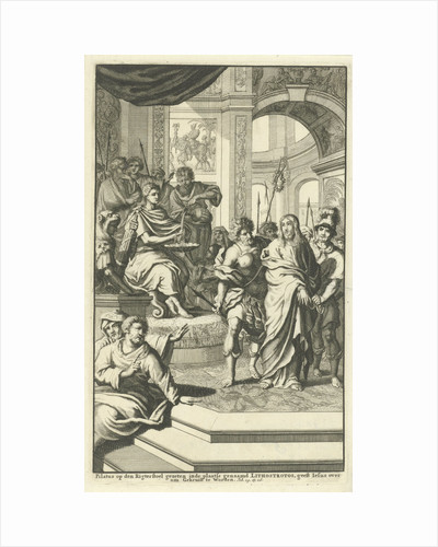 Pilate washes his hands in innocence by Wilhelmus Goeree I