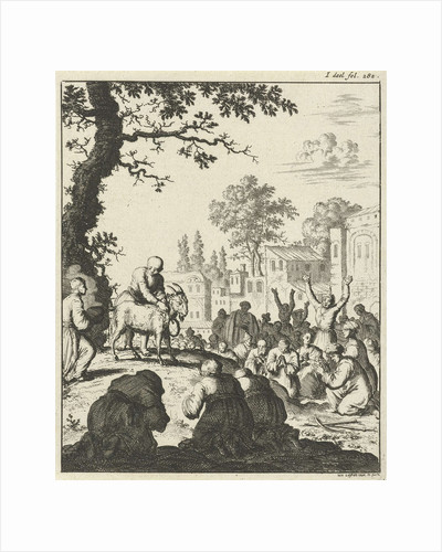Worship of the white goat by Joannes van Someren
