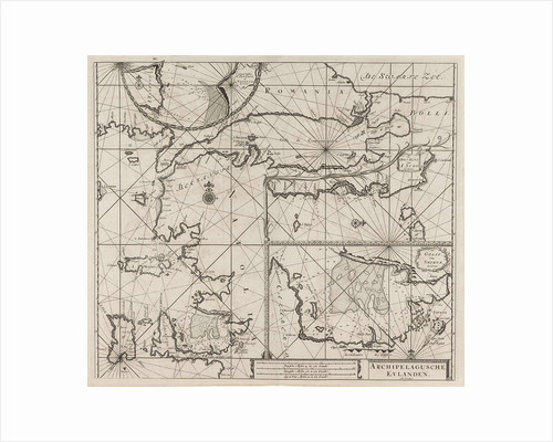 Sea chart of the northeastern part of the Aegean Sea, the Sea of Marmara and the Bosphorus by Anonymous