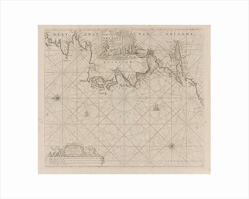 Sea chart of a portion of the west coast of Ireland by Johannes van Keulen I