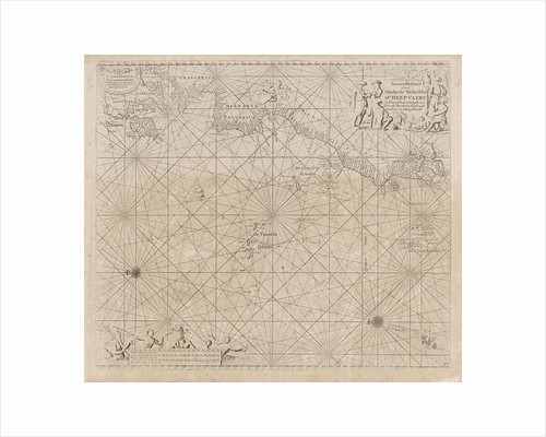 Sea chart of the Atlantic Ocean to the west coast of Europe and parts of Africa by unknown