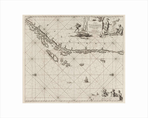 Sea chart of part of the Norwegian coast, Norway by unknown