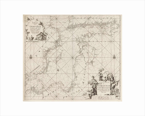 Sea chart of the Baltic Sea from Rostock to Vyborg by unknown