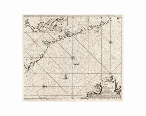 Sea chart of part of the northeast coast of England and part of Scotland by unknown