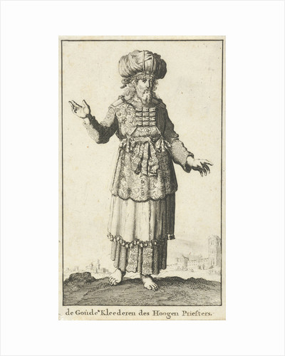 High Priest in liturgical clothing (version A) by Willem Goeree