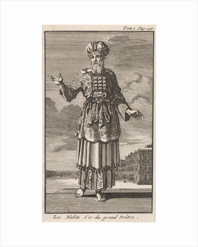 High Priest in liturgical clothing by Pieter Mortier