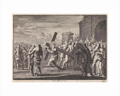 Carrying of the Cross by Pieter Mortier