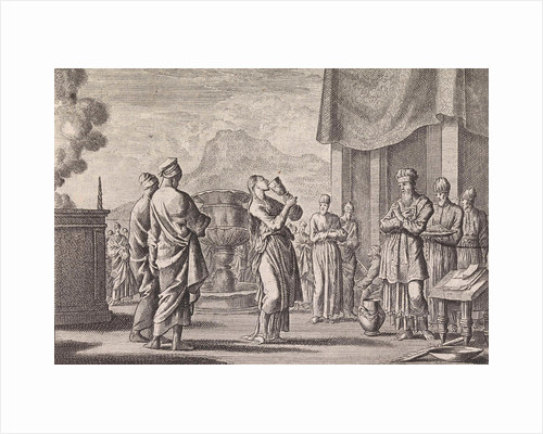 Ceremony which tests female infidelity by Pieter Mortier