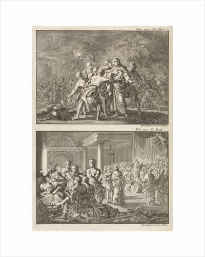 Arrest of Christ and Peter denies Christ by Willem Broedelet