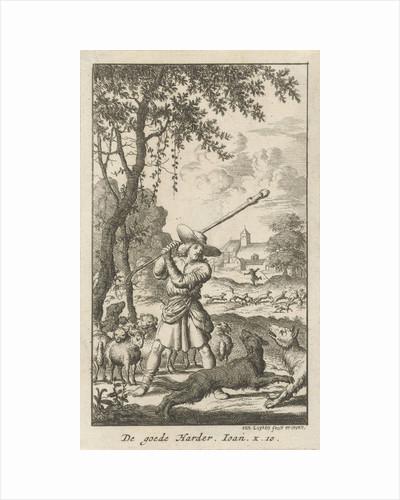Christ as the Good Shepherd by Jan Luyken