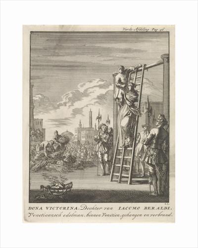 Execution of Victorina by Jan Claesz ten Hoorn