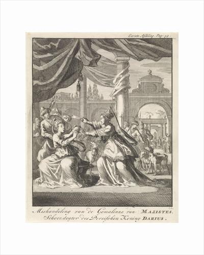 Mistreatment of women of Masistes by Jan Claesz ten Hoorn