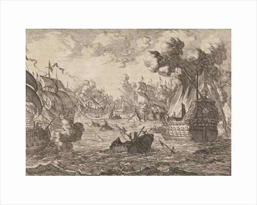 Battle of Cape La Hogue by Pieter van der Aa I