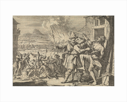 Atrocities against the people of Lower Austria committed by Polish Cossacks in the service of the emperor, 1620 by Pieter van der Aa I