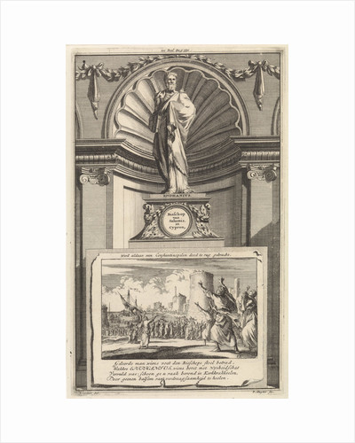 H. Epiphanius of Salamis, church father by Francois Halma