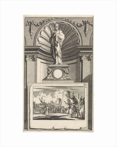 H. Epiphanius of Salamis, church father by Jan Goeree